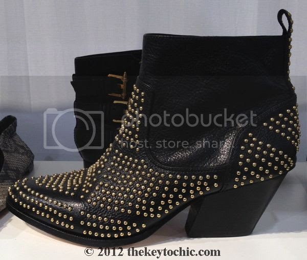 Dolce Vita fall 2012 studded black leather ankle boot, Dolce Vita Rezzie boots