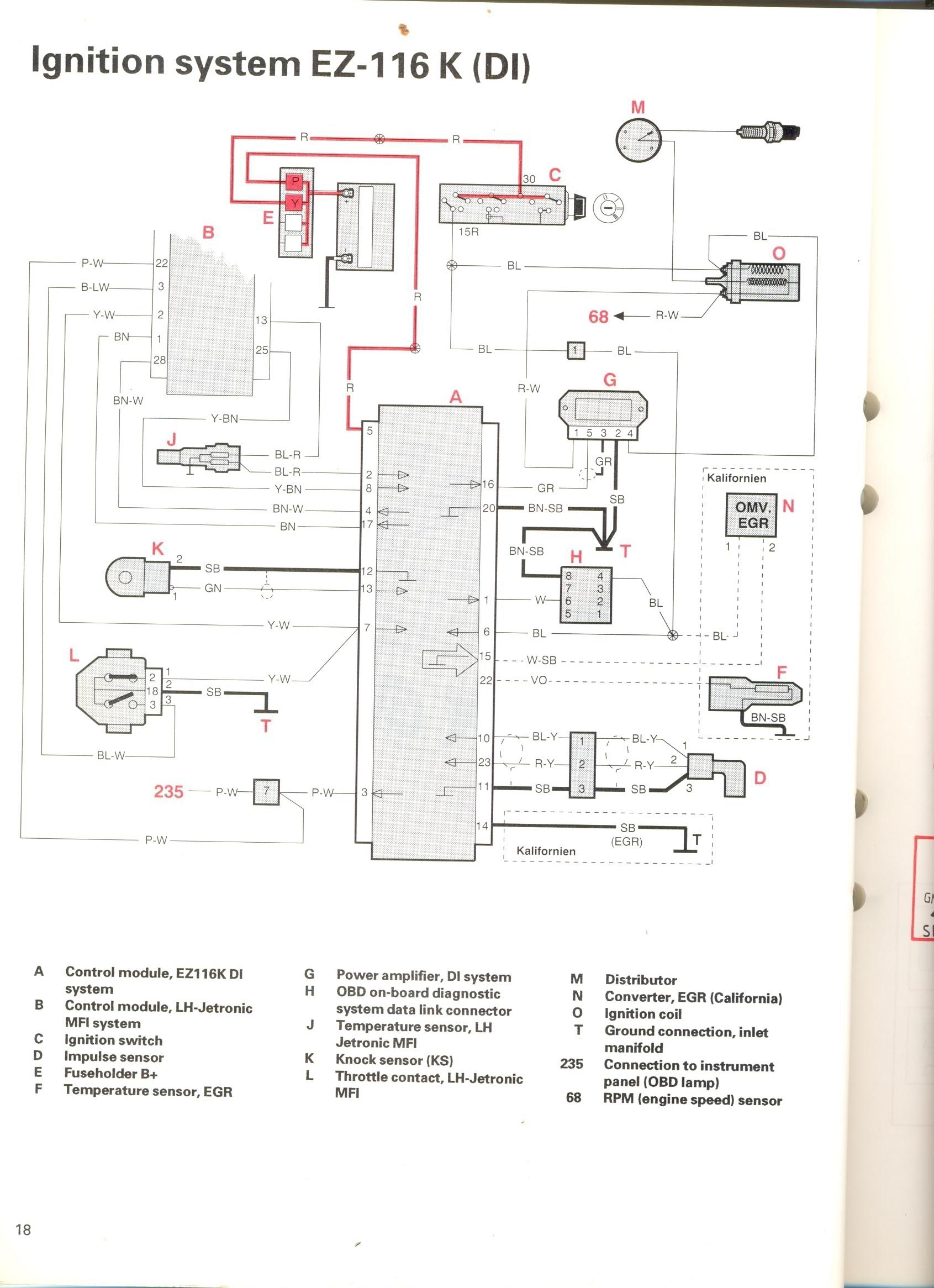 Volvo 1974 142 Wiring Diagram