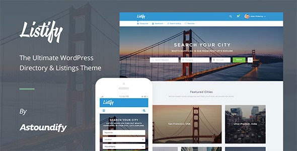 Listify v1.1.2 - Themeforest WordPress Directory Theme