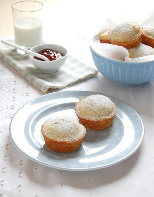 Linzer muffins / Muffins linzer