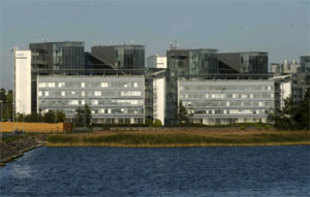 """The glass and steel building by the Baltic Sea will be bought by Finnish real estate company Exilion, and Nokia will lease it back on a """"long-term basis,"""""""