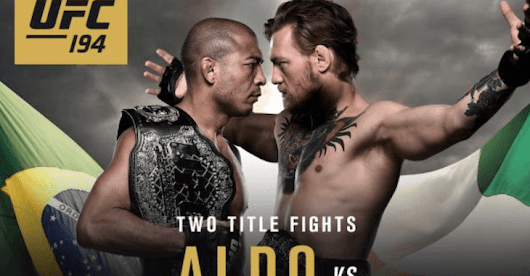 Return of the Blog: UFC 194 preview