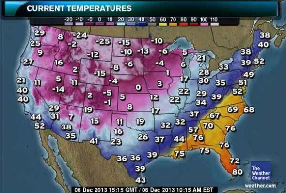 Us Temperature Map Tomorrow Us Temperature Map Lows