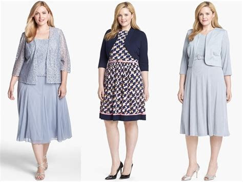 Plus Size Wedding Guest Dresses and Accessories Ideas
