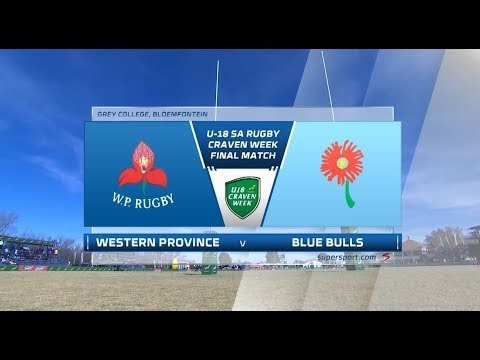 Craven Week | Western Province vs Blue Bulls | Final