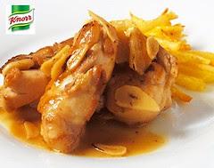 Pollo al ajillo - Knorr España