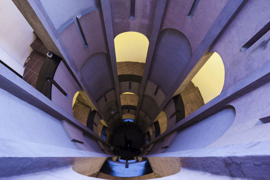 Ricardo Bofill casa personal cemento 16