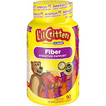 L'il Critters Fiber Supplement Gummy Bears, Tablets - 90 count
