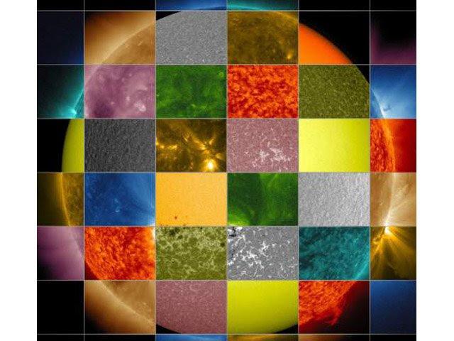 De Qué Color Es El Sol Astro