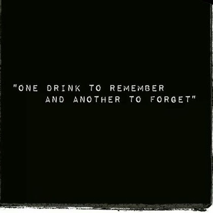 Remember. Forget.