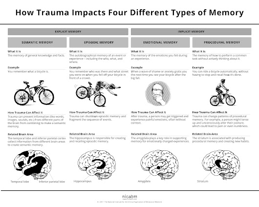 The 4 Kinds of Memory and How Trauma Affects Each…