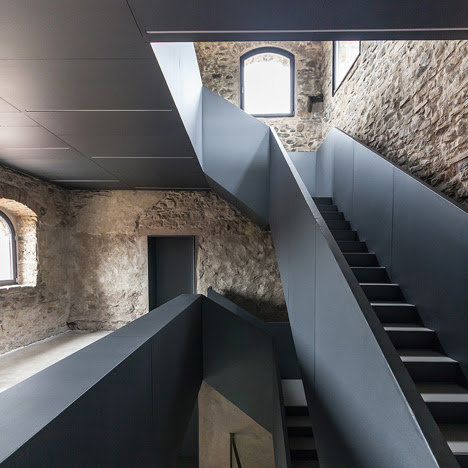 Gianluca Gelmini converts medieval fortress into a library