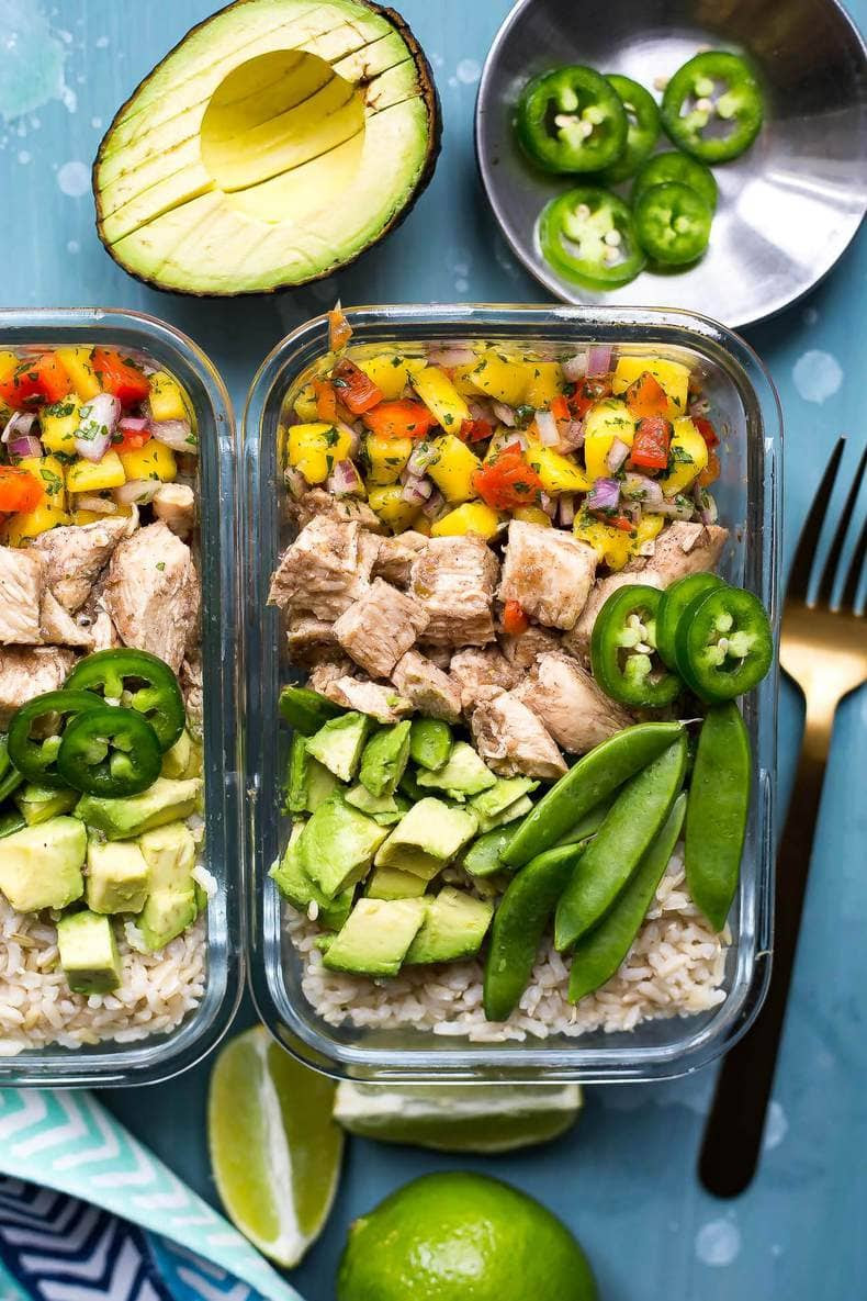 Meal Prep Jerk Chicken Rice Bowls  The Girl on Bloor