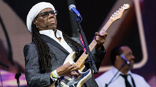 Nile Rodgers praises King of Sweden's 'air-guitar'