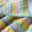 Baby Pastel Crochet Blanket baby newborn shower gift toddler afghan on Handmade Artists' Shop