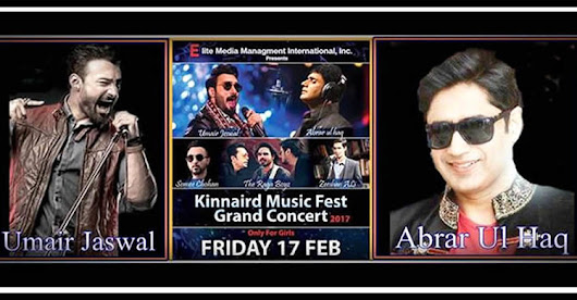 ABRAR UL HAQ TO FIRE BHANGRA IN KINNAIRD MUSIC FEST | eTicketing.pk | e-Tickets for Concerts, Theatre, Sports and Entertainment events in Pakistan