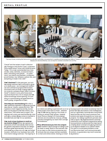 Retail Profile Heather Scott Home Design Home Accents Today
