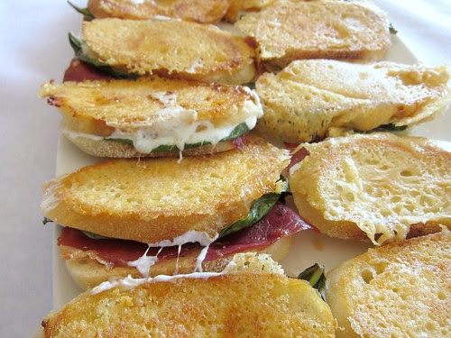 Grilled Cheese w Prosciutto