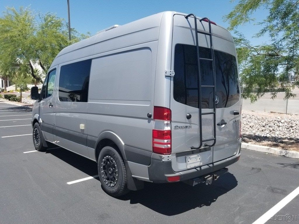 Amazing Custom Luxury Modern Mercedes Benz Sprinter Van RV ...