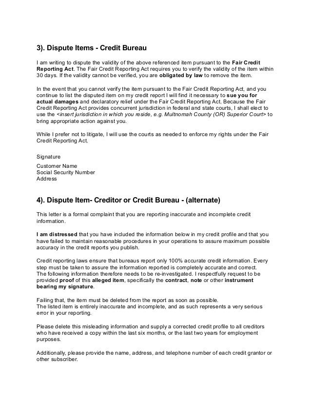 Credit Report Dispute >> How To Cast Off A Credit Document Dispute