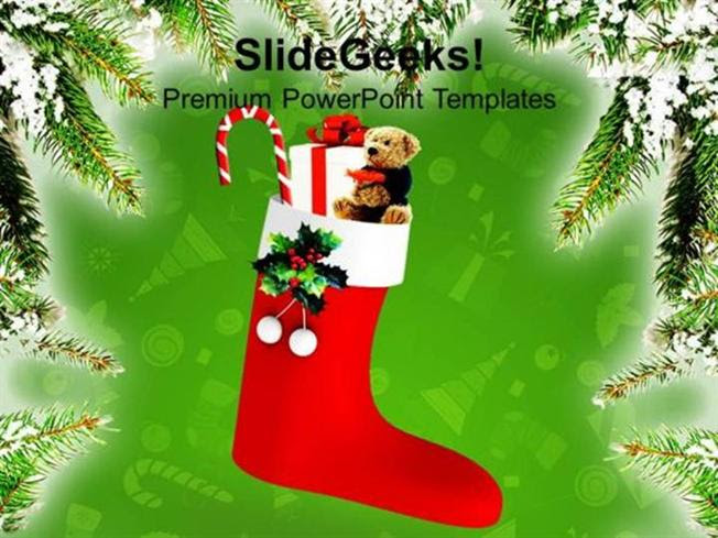 Church Merry Christmas Gifts Celebration Festival Ppt Template Powerpoint Template