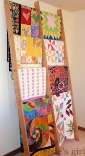 elsie's girl: displaying my quilts