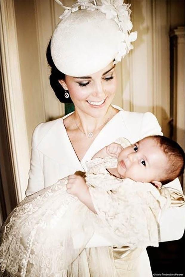 Kate Middleton e Charlotte (Foto: Reprodução/Mario Testino/Art Partne)