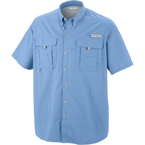 Columbia Men's Bahama II Short Sleeve Shirt - Sail
