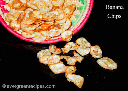 Raw Banana Chips Recipe