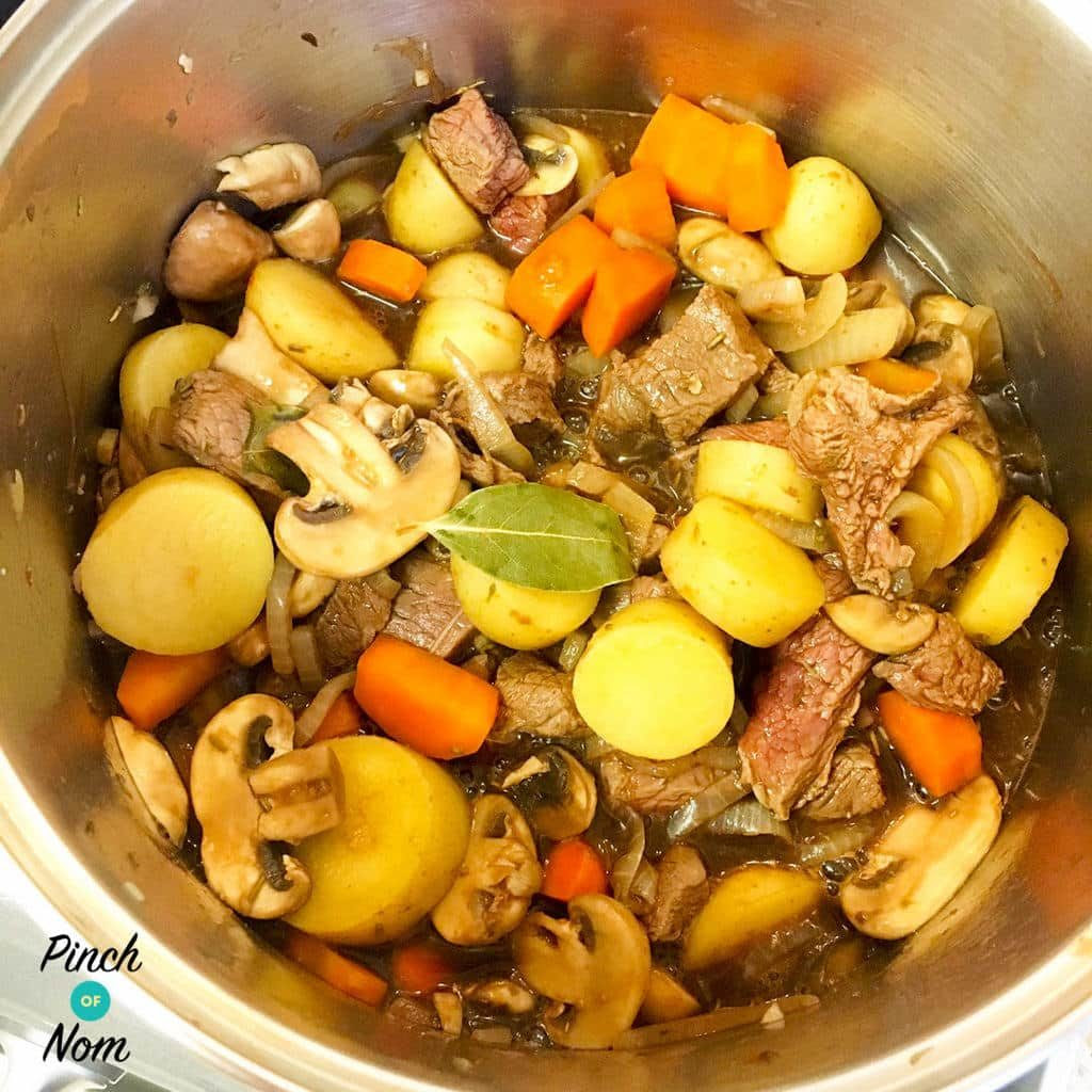 Half Syn One Pot Slow Cooked Beef | Slimming World - Pinch ...