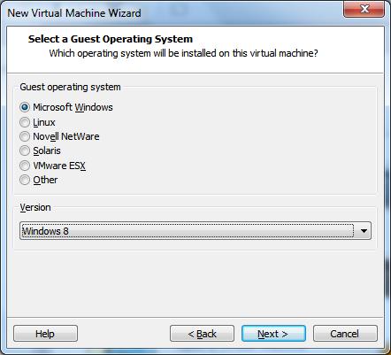 Windows 10 on VMWare Workstation