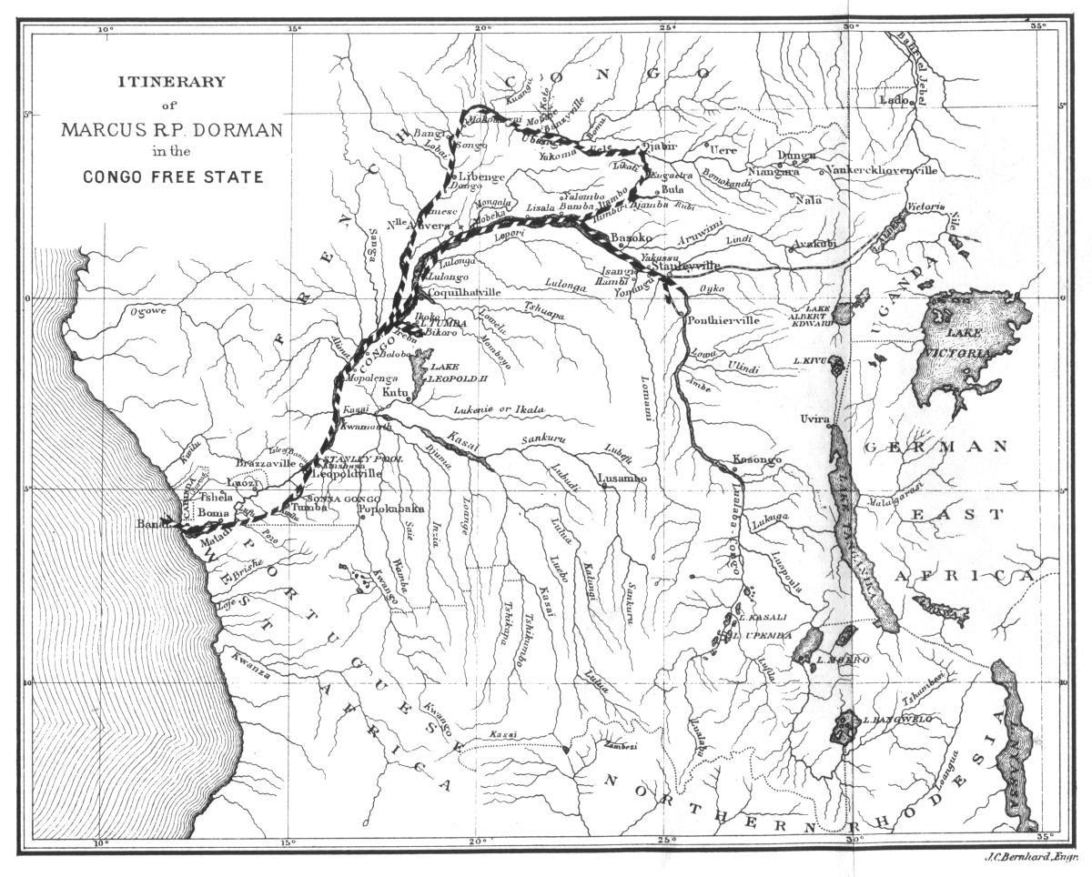 Image Result For Congo River Map
