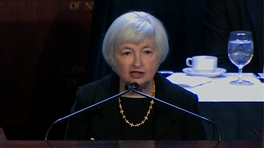 Fed Chair Yellen signals she is less concerned about this economic threat: FT Alphaville's Garcia