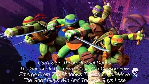 Teenage Mutant Ninja Turtles Lyrics Original