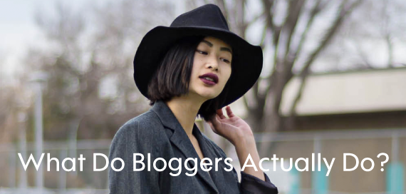 What do Bloggers Actually Do?