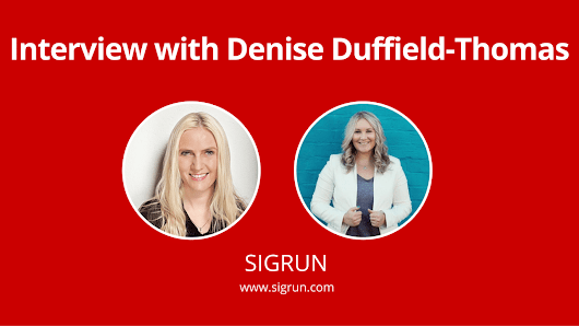Interview with Denise Duffield-Thomas - SIGRUN