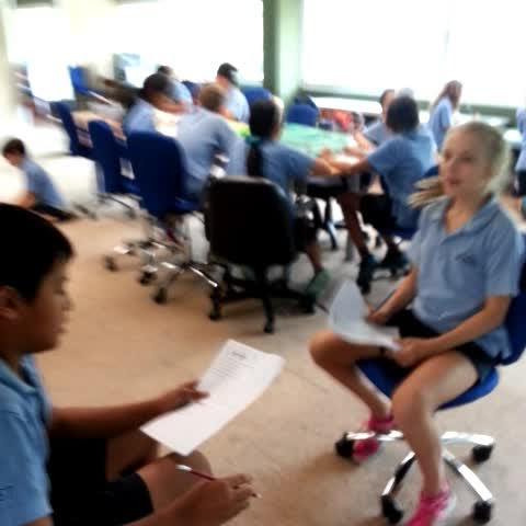 @niststudents @y6nist #making 6CK Empathising with their partner in stg 1 of #designthinking