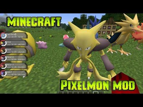 Minecraft MOD | Pixelmon (1.12)