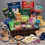 Get Well Tea & Cookies Gift Crate by Gourmet Gift Baskets - Get Well Gift Baskets - Gift Baskets