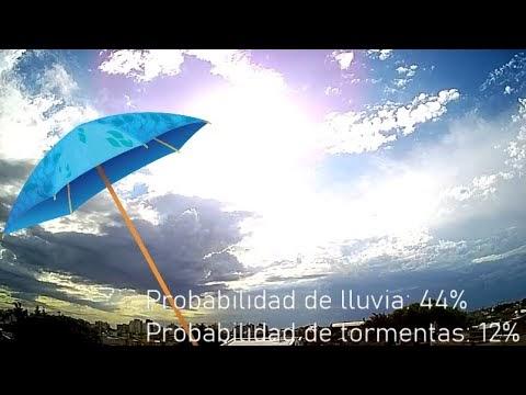 Llegan áreas de lluvias y tormentas al sur de la Provincia de Buenos...