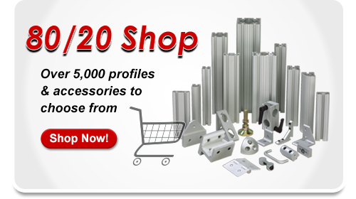 80/20 Inc. - T-slotted aluminum framing system