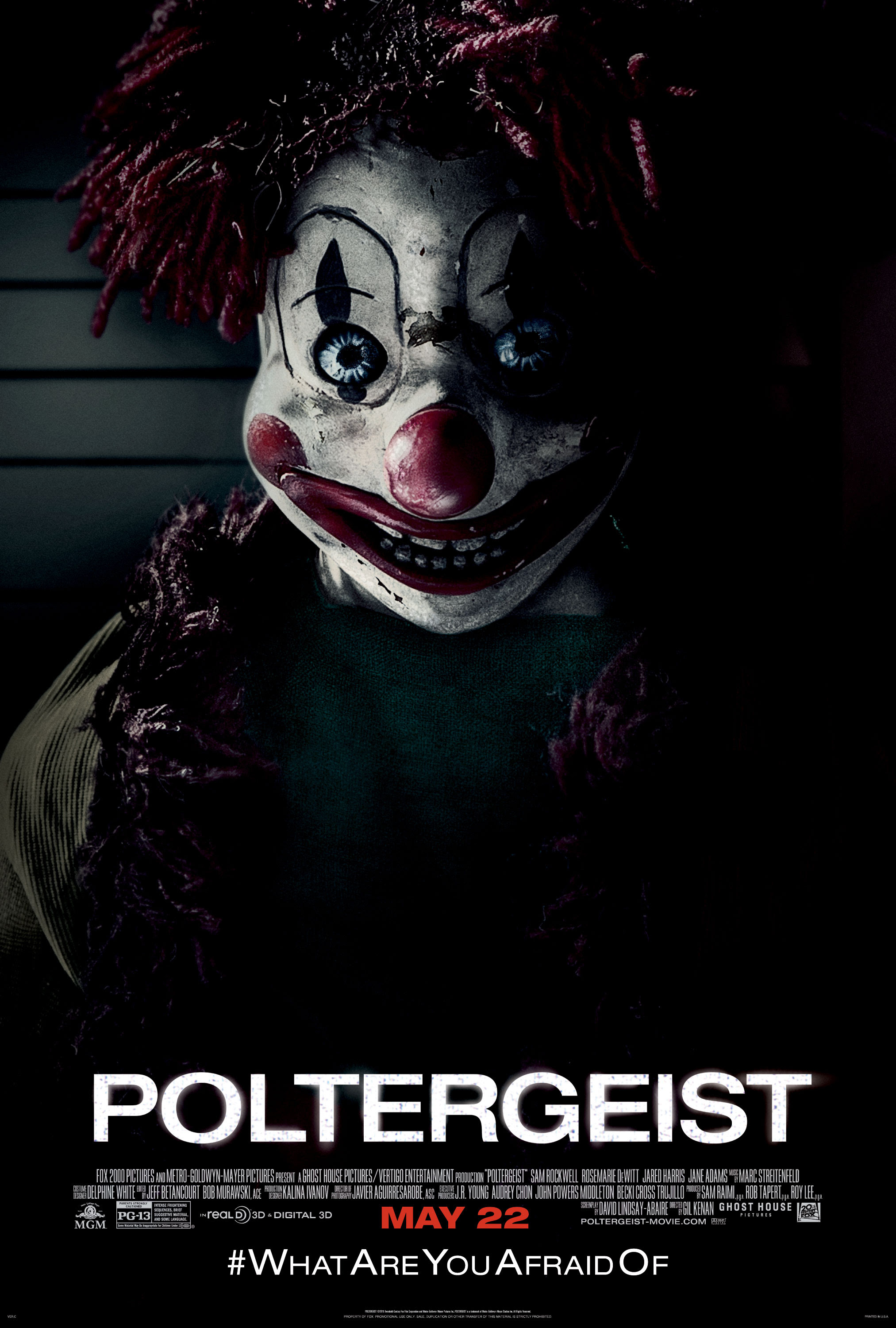 Image result for poltergeist 2015 poster