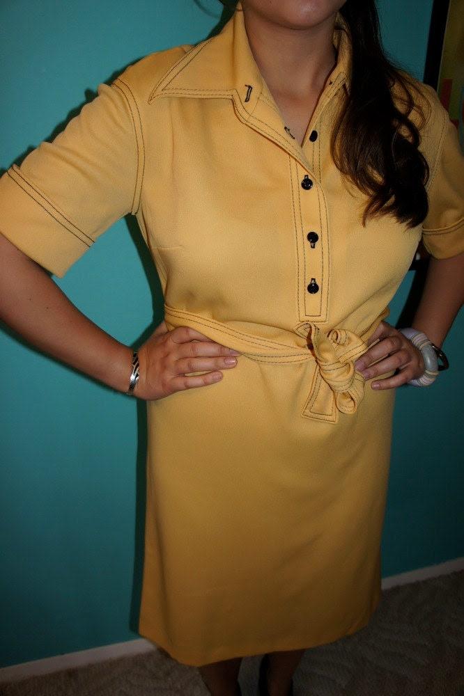 Vintage 60s mod SCOOTER dress