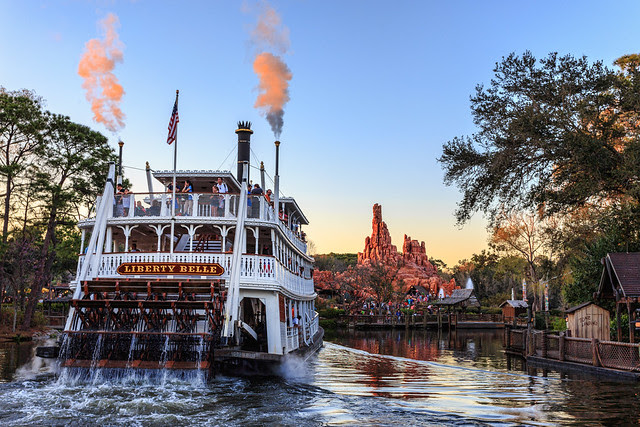 The Liberty Belle and Big Thunder Mountain