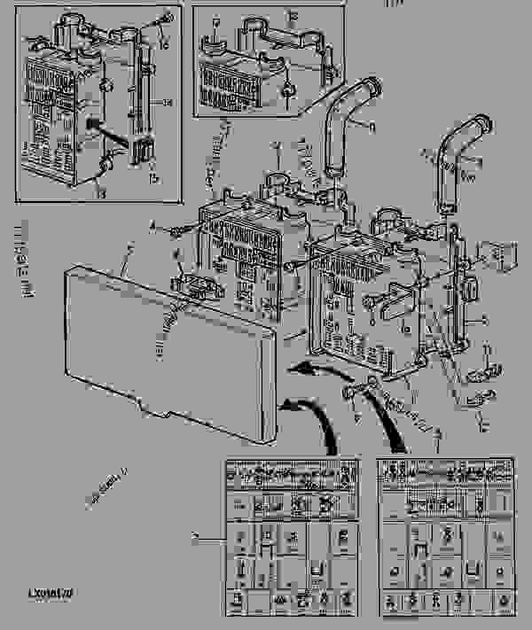 32 John Deere 6400 Fuse Box Diagram