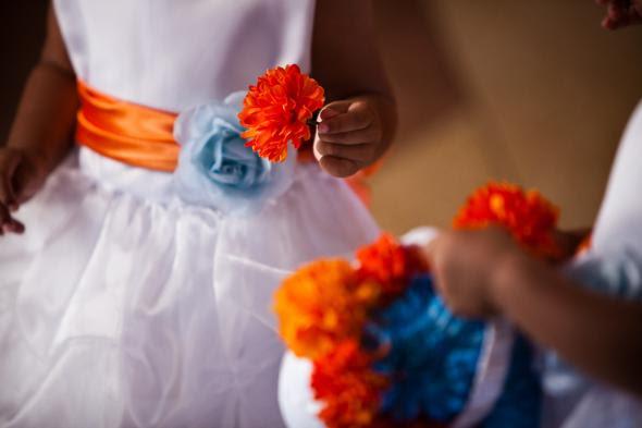 Nossos doces meninas da flor! : Casamento flor de laranjeira menina vestidos de casamento Elena Luis 187