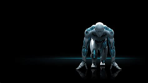 latest robot backgrounds wallpaper high definition