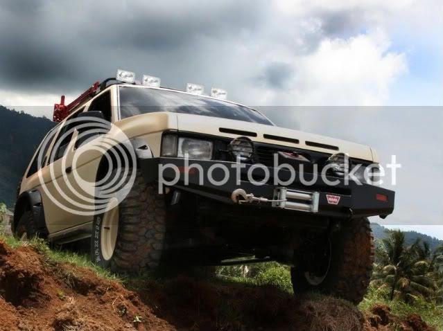 gl pro modifikasi: Nissan Terrano Modifikasi