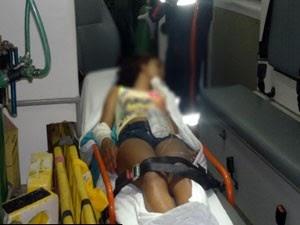 Menina de 13 anos é atingida por bala perdida durante tiroteio em Mossoró