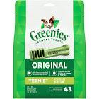 GREENIES Original TEENIE Dog Dental Chews - 12 Ounces 43 Treats